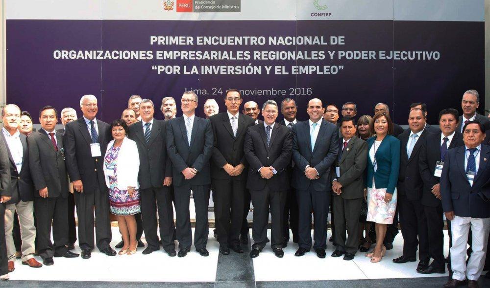 Gremios empresariales del per dialogaron con ministros for Ministros del peru