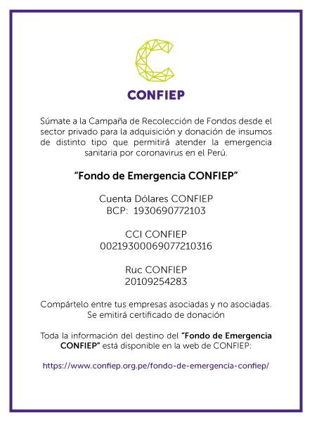 Fondo de Emergencia CONFIEP 260320